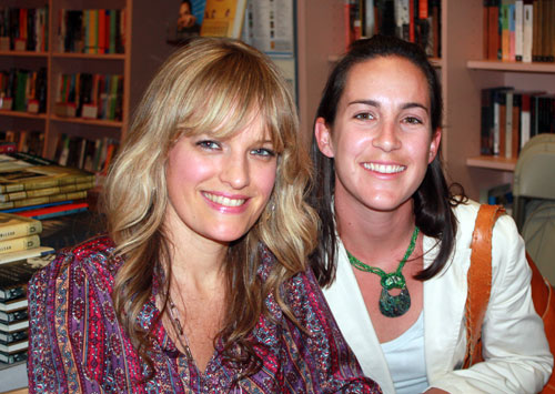 Erin McKenna and her new fan, Ali
