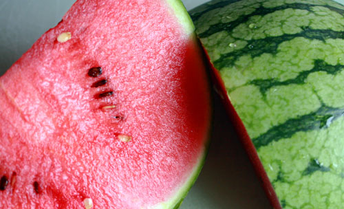 Karpouzi (watermelon) is a low calorie and nutrient packed treat
