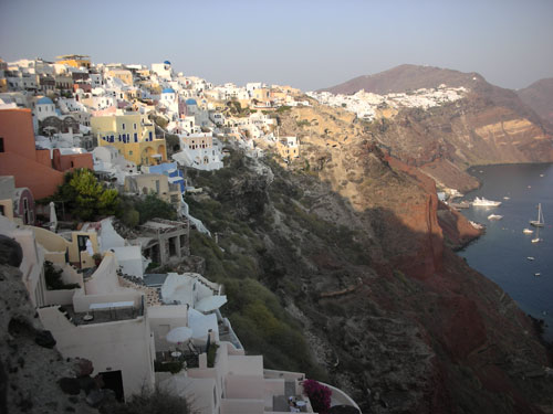 Scenic and breathtaking Oia, Santorini