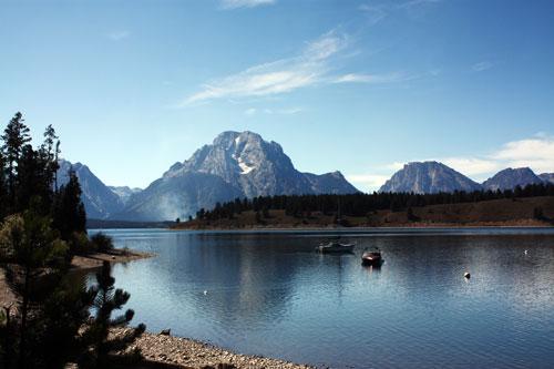 Jackson Lake, Signal Mountain Campground