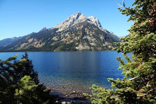 The Grand Tetons, Jenny Lake
